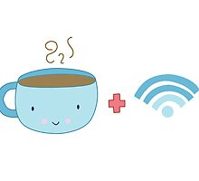 Coffee and Wifi by KathrinLegg