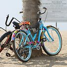 Beach Cruisers in Love by Candi  Controulis