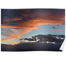 Sunset on Eagle Mountain Poster