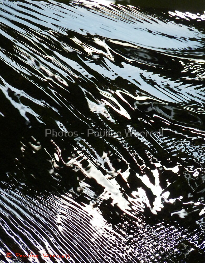 Water abstract 3 by Photos - Pauline Wherrell