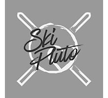 Ski Pluto Photographic Print