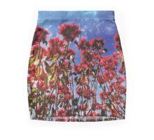 Flowers galaxies Mini Skirt