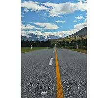 A New Zealand Highway Photographic Print