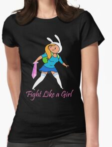 Fight Like a Girl Adventure Time T-Shirt