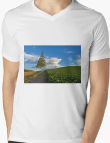 Unique Mens V-Neck T-Shirt