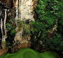 Pea Soup- Crater Pool by Mark Malinowski