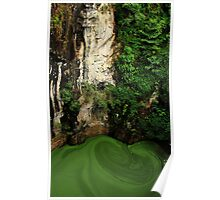 Pea Soup- Crater Pool Poster