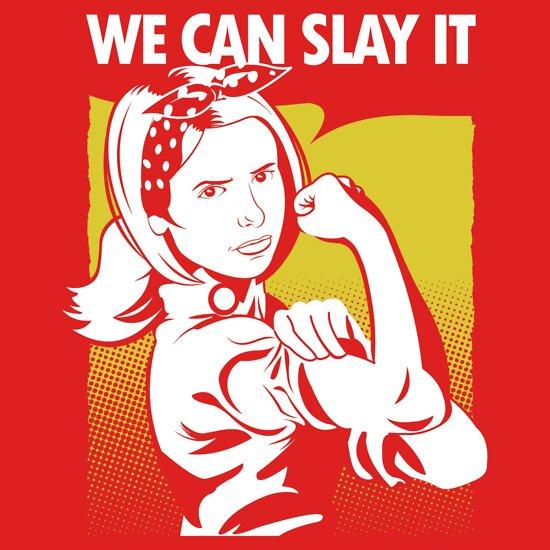 TShirtGifter presents: We Can Slay It | Buffy The Vampire Slayer T-Shirt