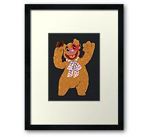 Septembear: Fozzie  Framed Print