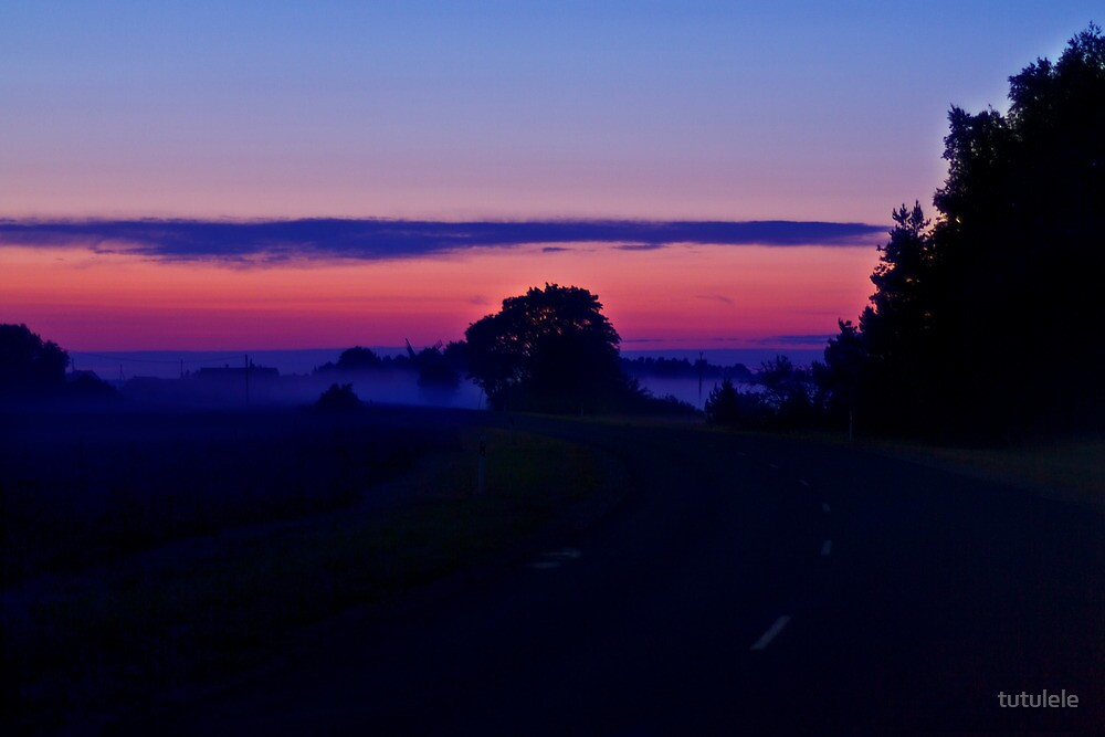 Road to the Light by tutulele