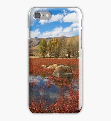 Red Grass Beach iPhone Case/Skin