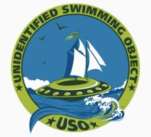UNIDENTIFIED SWIMMING OBJECT (USO) Kids Clothes
