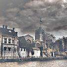 Maidstone (All Saints and the Arch Bishops Palace) by larry flewers