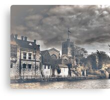 Maidstone (All Saints and the Arch Bishops Palace) Canvas Print