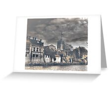 Maidstone (All Saints and the Arch Bishops Palace) Greeting Card