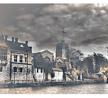 Maidstone (All Saints and the Arch Bishops Palace) Photographic Print