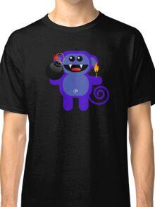 MUNKEY 4  (Cute pet has a bomb and its alight!) Classic T-Shirt