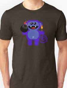 MUNKEY 4  (Cute pet has a bomb and its alight!) Unisex T-Shirt