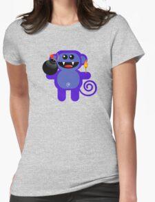 MUNKEY 4  (Cute pet has a bomb and its alight!) T-Shirt
