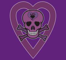 Punky Pink Skull #2 by RubyFox