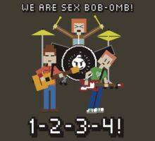 WE ARE SEX BOB-OMB! 8-BIT - Scott Pilgrim by AlexNoir