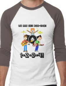 WE ARE SEX BOB-OMB! 8-BIT - Scott Pilgrim Men's Baseball ¾ T-Shirt