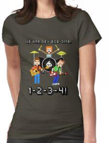 WE ARE SEX BOB-OMB! 8-BIT - Scott Pilgrim Womens Fitted T-Shirt