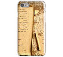 Uighur Language iPhone Case/Skin