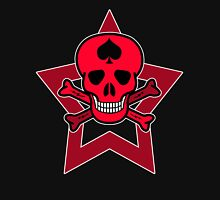 Red Punk Skull Unisex T-Shirt