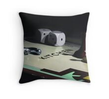 Kitchen Sink Drama Throw Pillow