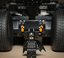Batman Stare with Tumbler by garykaz