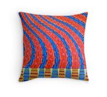 lake winnipeg storm Throw Pillow