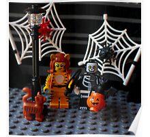 Happy Lego Halloween Poster