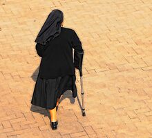 The Walking Nun by montserrat