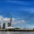 """Sals on the Bridge""..Winnipeg, Canada. by Larry Trupp"