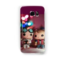 Christmas with Marty and Doc Samsung Galaxy Case/Skin