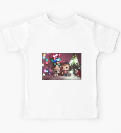 Christmas with Marty and Doc Kids Tee
