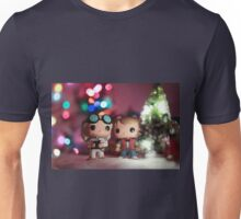 Christmas with Marty and Doc Unisex T-Shirt