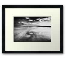 The Sky Rushes In Framed Print