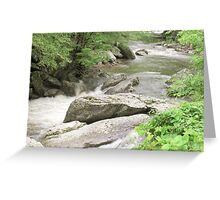 Flowing River - Tennessee Greeting Card
