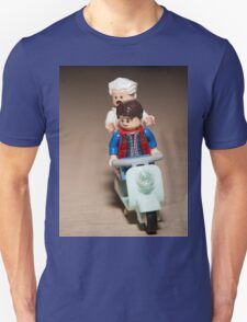 Marty and Doc Brown ride a Scooter T-Shirt