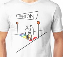 Brighton Rainbow Crossing Unisex T-Shirt