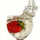 Straw Berry Splash...... by AroonKalandy