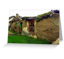 Once a warm family home ... Greeting Card
