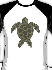 Green Sea Turtle Design T-Shirt