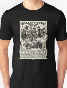 Spectral Smashers on dark shirt Unisex T-Shirt