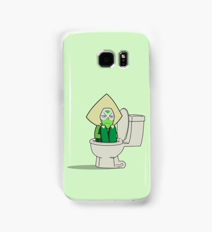 Peridot in the Toilet Samsung Galaxy Case/Skin