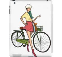 Agyness Deyn Cartoon Tshirt iPad Case/Skin