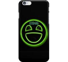 EDM neon smiley face iPhone Case/Skin