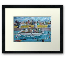 Changes in the Weather Framed Print